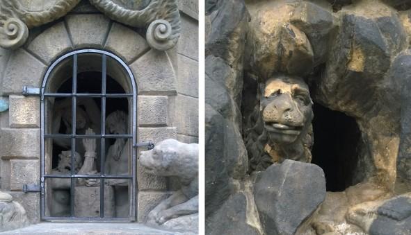 Patung penuh emosi ...