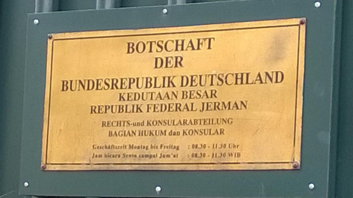 Membuat Visa di Kedutaan Jerman