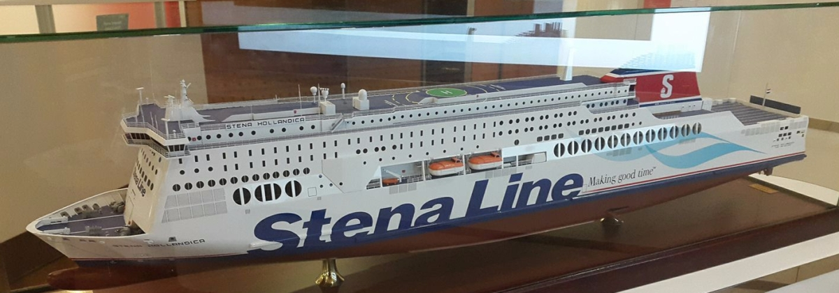 Berlayar dari London ke Amsterdam