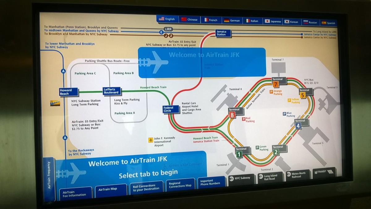 Bandara JFK yang tidak rumit